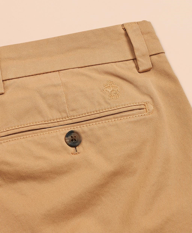 Slim-Fit Garment-Dyed Stretch Chinos 썸네일 이미지 4