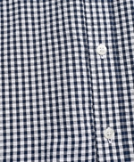 Gingham Seersucker Short-Sleeve Sport Shirt 썸네일 이미지 5
