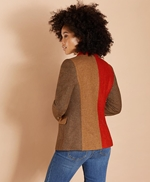 Patchwork Wool Twill Jacket 썸네일 이미지 5
