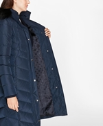 Fur-Trimmed Down Puffer Coat 썸네일 이미지 5