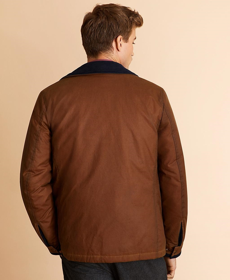 Four-Pocket Waxed Canvas Jacket 썸네일 이미지 5