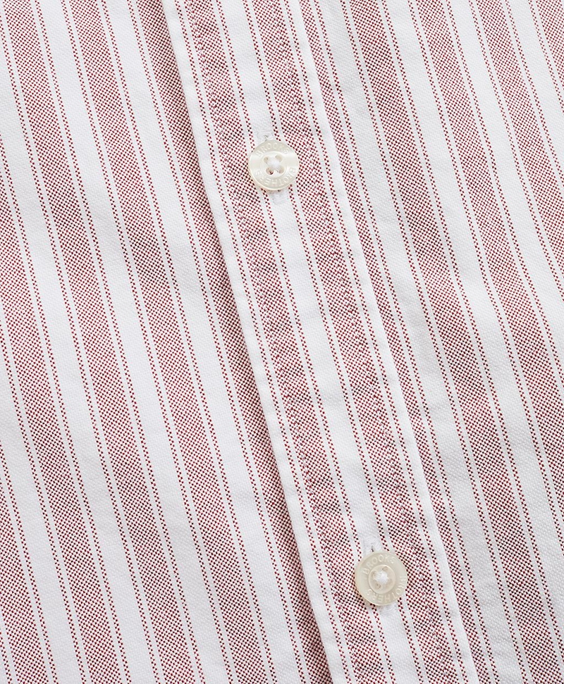 Striped Cotton Oxford Sport Shirt 썸네일 이미지 5