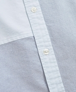 Patchwork Oxford Sport Shirt 썸네일 이미지 6