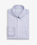 Milano Slim-Fit Dress Shirt, Non-Iron Dobby Button Down Collar 썸네일 이미지 1