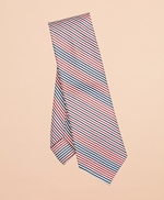 Alternating Stripe Silk-Blend Tie 썸네일 이미지 1