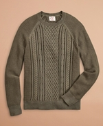 Plated Cable Sweater 썸네일 이미지 1