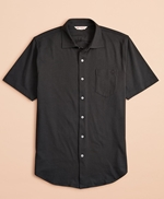 Jersey Cotton Short-Sleeve Shirt 썸네일 이미지 1