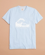 Wave Graphic T-Shirt 썸네일 이미지 1