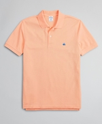 Slim Fit Supima® Cotton Performance Polo Shirt 썸네일 이미지 1