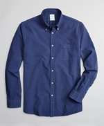Regent Fitted Sport Shirt, Garment-Dyed Seersucker 썸네일 이미지 1