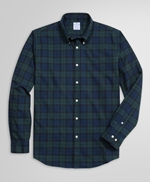 Exclusive Regent Fit Flannel Check Sport Shirt 썸네일 이미지 1