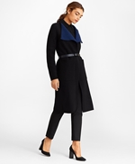 Water-Repellent Stretch Wool Twill Trench Coat 썸네일 이미지 1