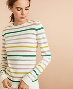 Shimmer Stripe Sweater 썸네일 이미지 1