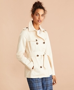 Water-Repellent Cotton Twill Trench Jacket 썸네일 이미지 1