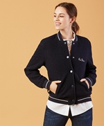 Red Fleece Wool Bomber 썸네일 이미지 1