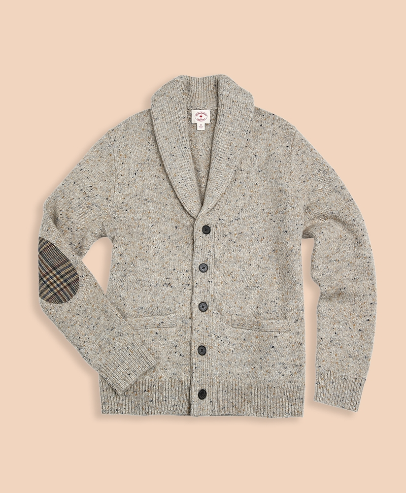 Donegal Shawl Cardigan Sweater 썸네일 이미지 1
