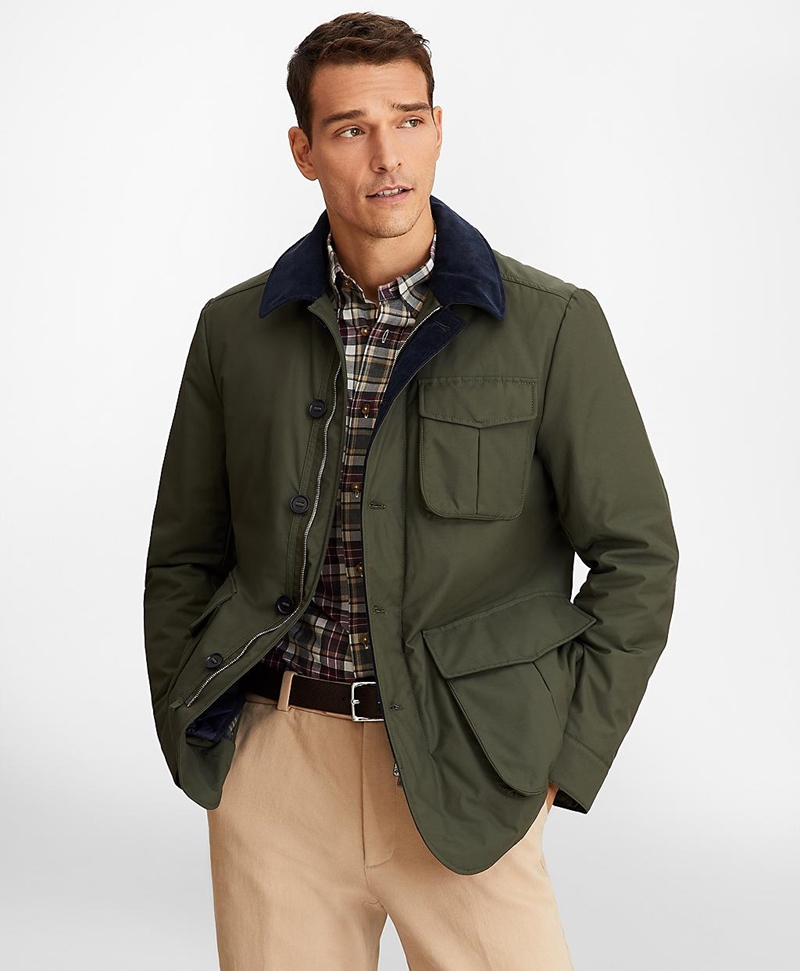 Removable-Lining Barn Coat 썸네일 이미지 1