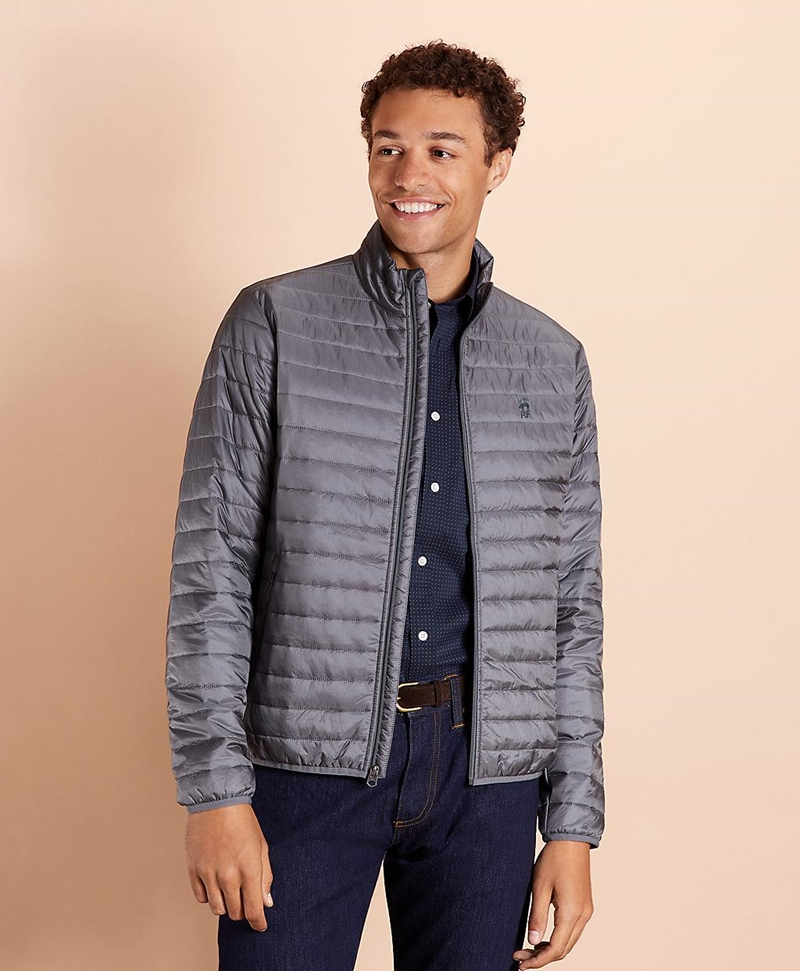 Water-Resistant Puffer Jacket 썸네일 이미지 1