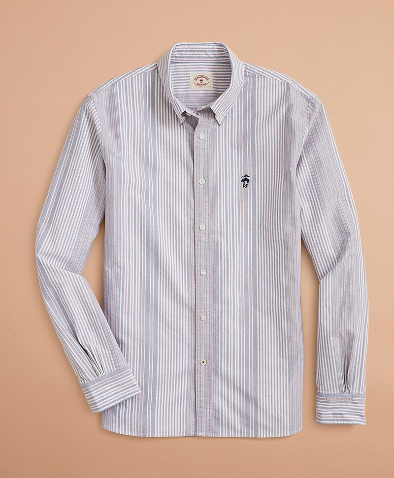 Multi-Stripe Oxford Shirt 썸네일 이미지 1