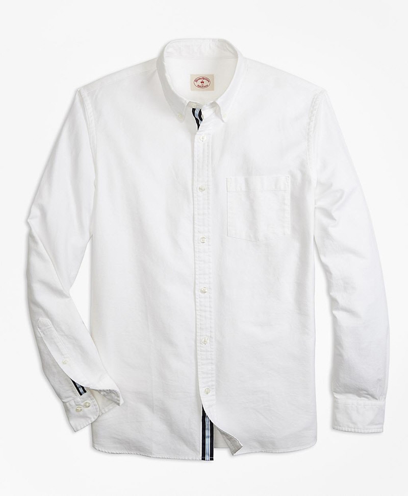 Supima® Cotton Oxford Sport Shirt 썸네일 이미지 1