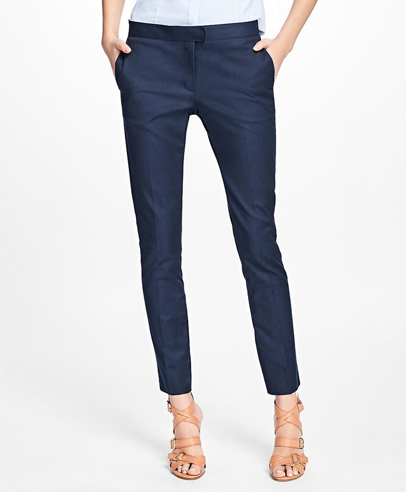 Flat-Front Stretch Advantage Chinos® 썸네일 이미지 1