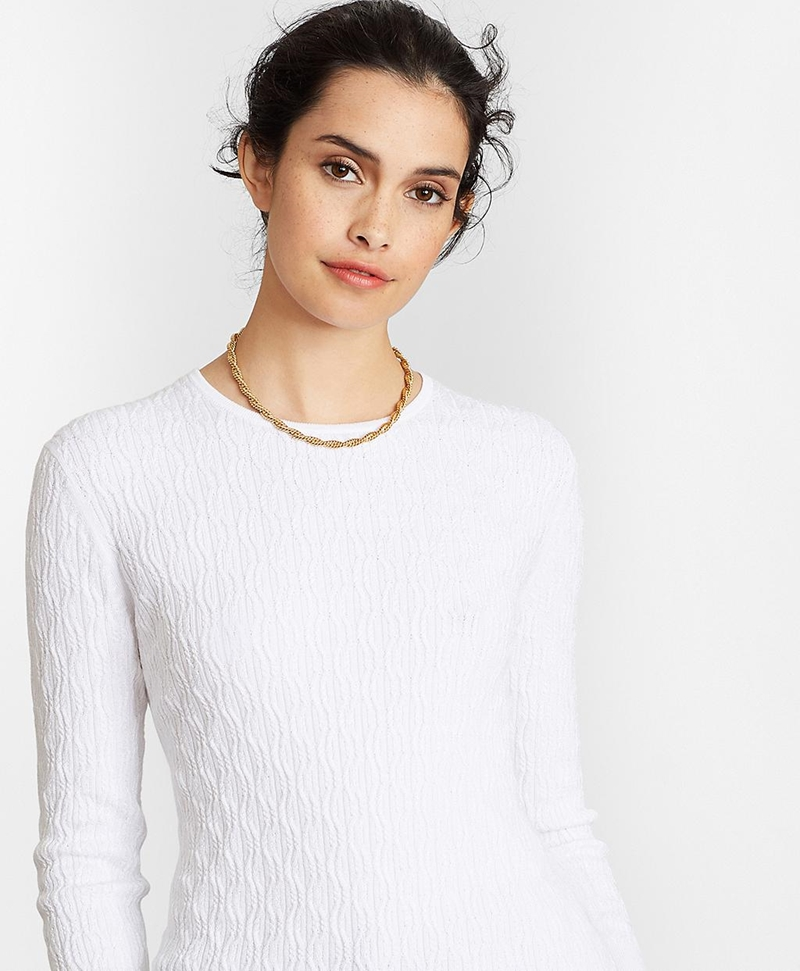Cable-Knit Sweater 썸네일 이미지 1