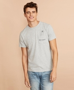 Cotton Surfboard Pocket T-Shirt 썸네일 이미지 2