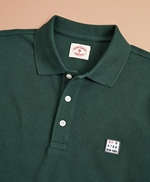 Garment-Dyed Cotton Pique Polo Shirt 썸네일 이미지 2