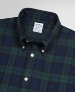 Exclusive Regent Fit Flannel Check Sport Shirt 썸네일 이미지 2