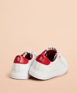 Ruffle-Trim Color-Block Leather Low-Top Sneakers 썸네일 이미지 2