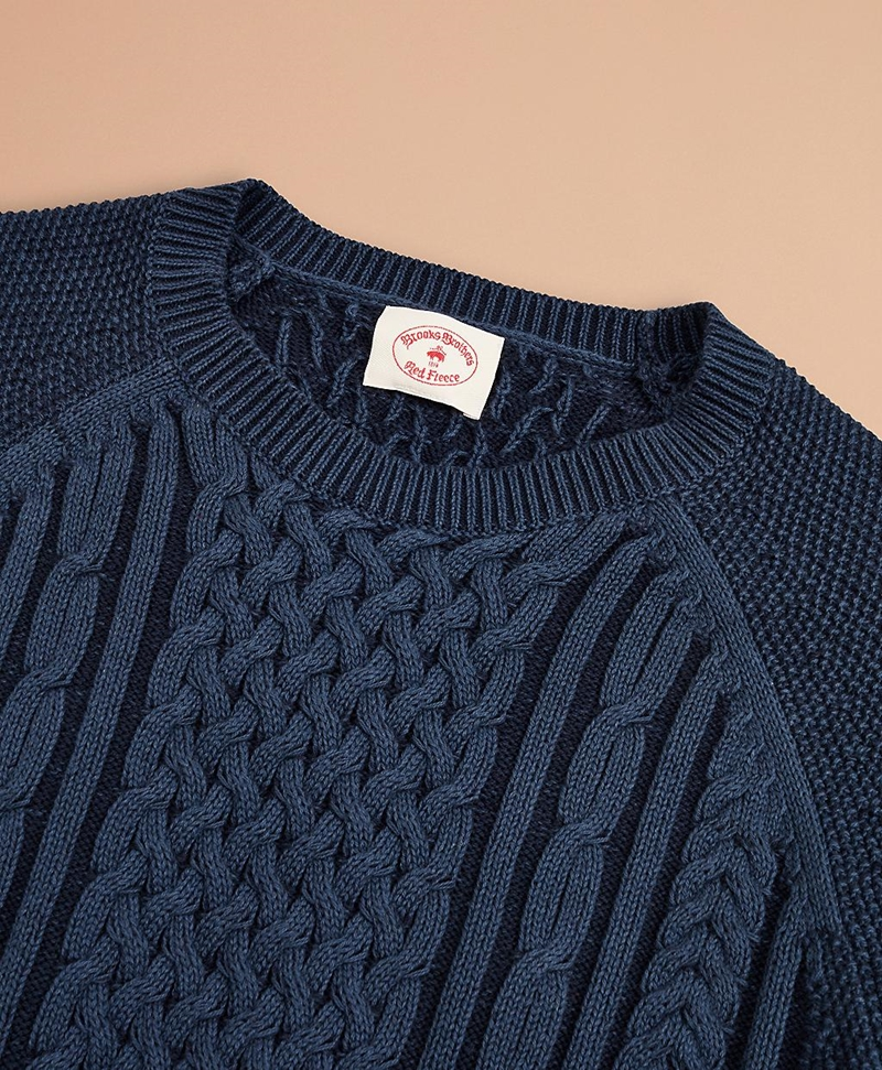 Plated Cable Sweater 썸네일 이미지 2