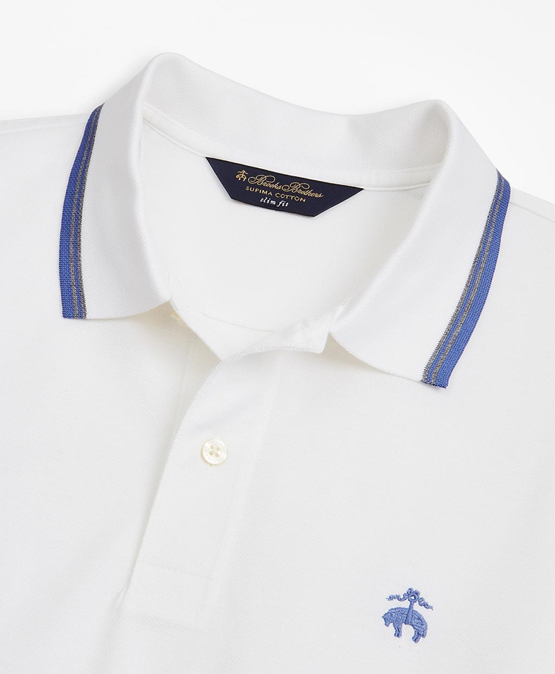 Slim Fit Tipped Polo Shirt 썸네일 이미지 2