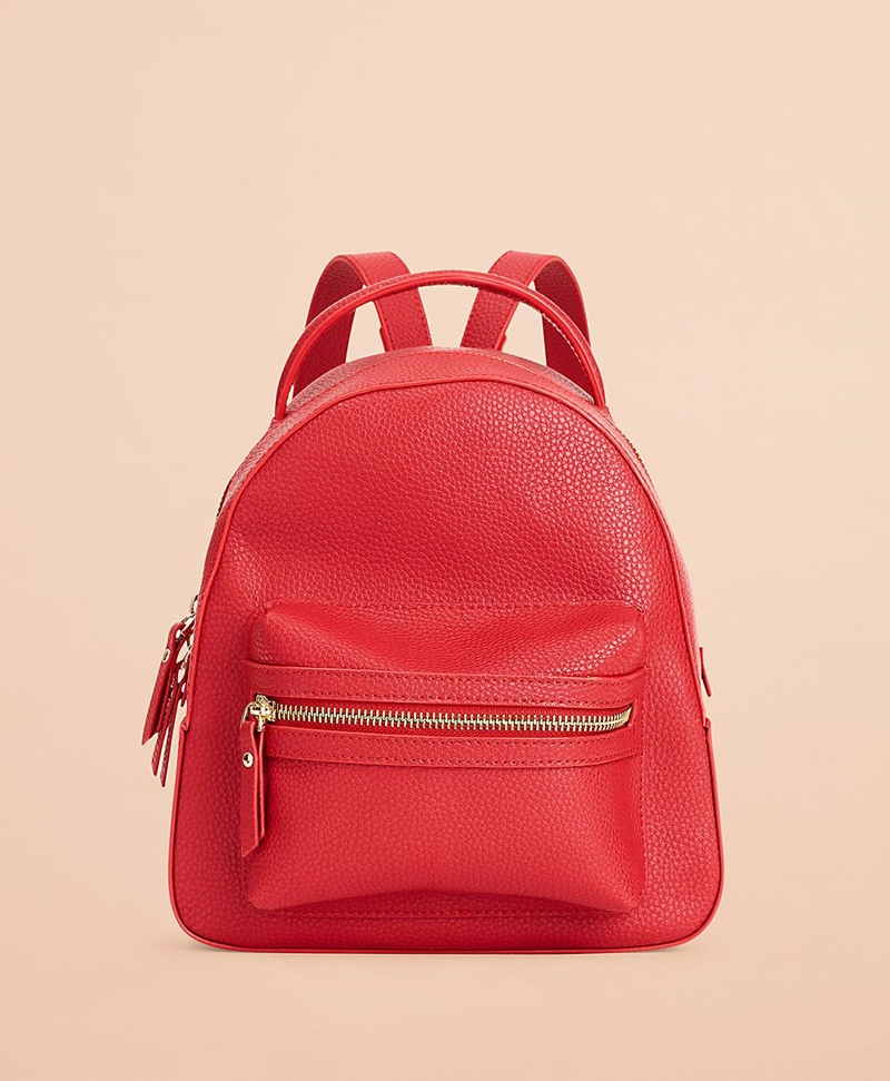 Pebbled Leather Backpack 썸네일 이미지 2