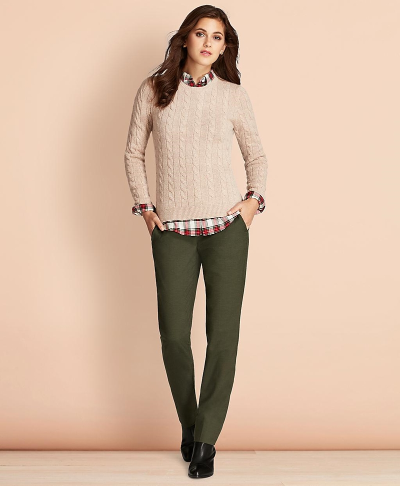 Cable-Knit Cashmere Sweater 썸네일 이미지 2