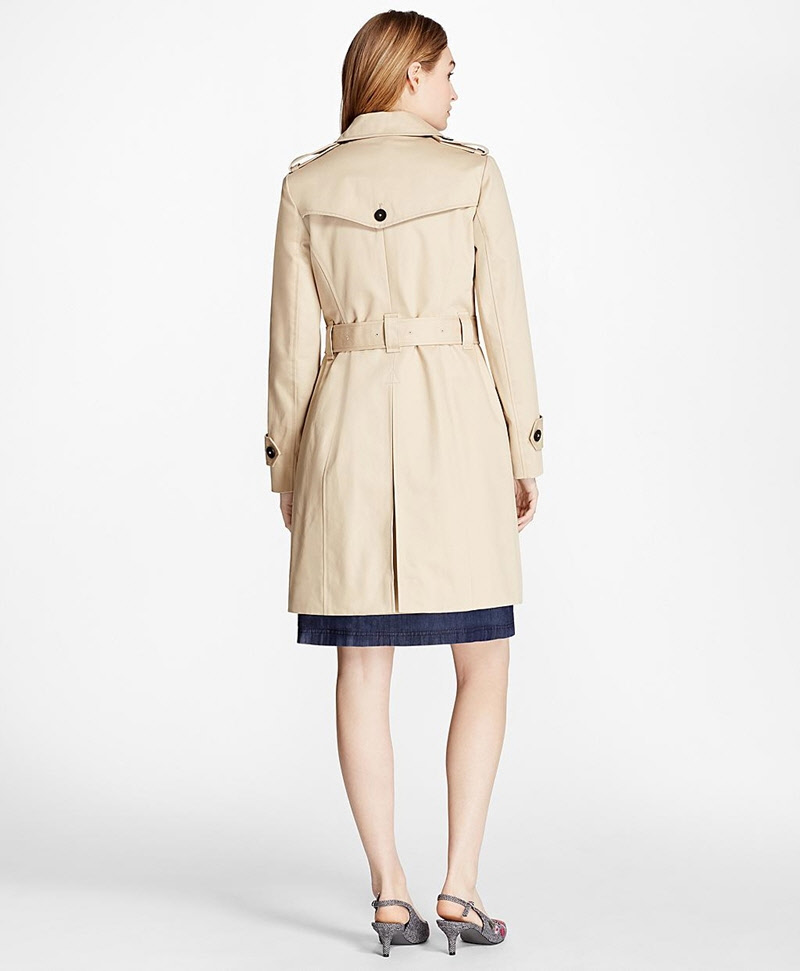 Cotton Twill Trench Coat 썸네일 이미지 2