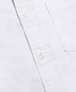 1818 Oxford Solid Short Sleeve Sport Shirt 썸네일 이미지 3