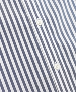 Stretch Regent Fitted Sport Shirt, Non-Iron Stripe 썸네일 이미지 3