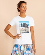 Cotton Beach Graphic T-Shirt 썸네일 이미지 3