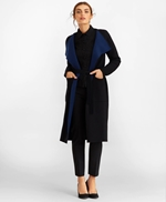 Water-Repellent Stretch Wool Twill Trench Coat 썸네일 이미지 3
