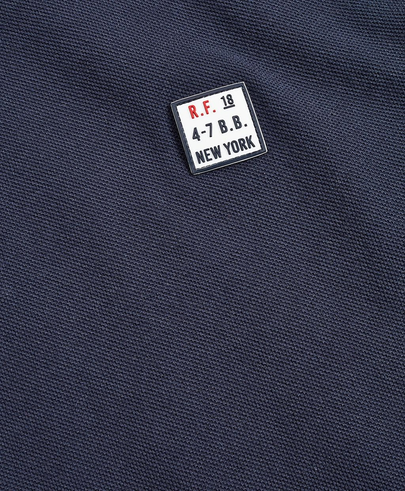 Garment-Dyed Cotton Pique Polo Shirt 썸네일 이미지 3