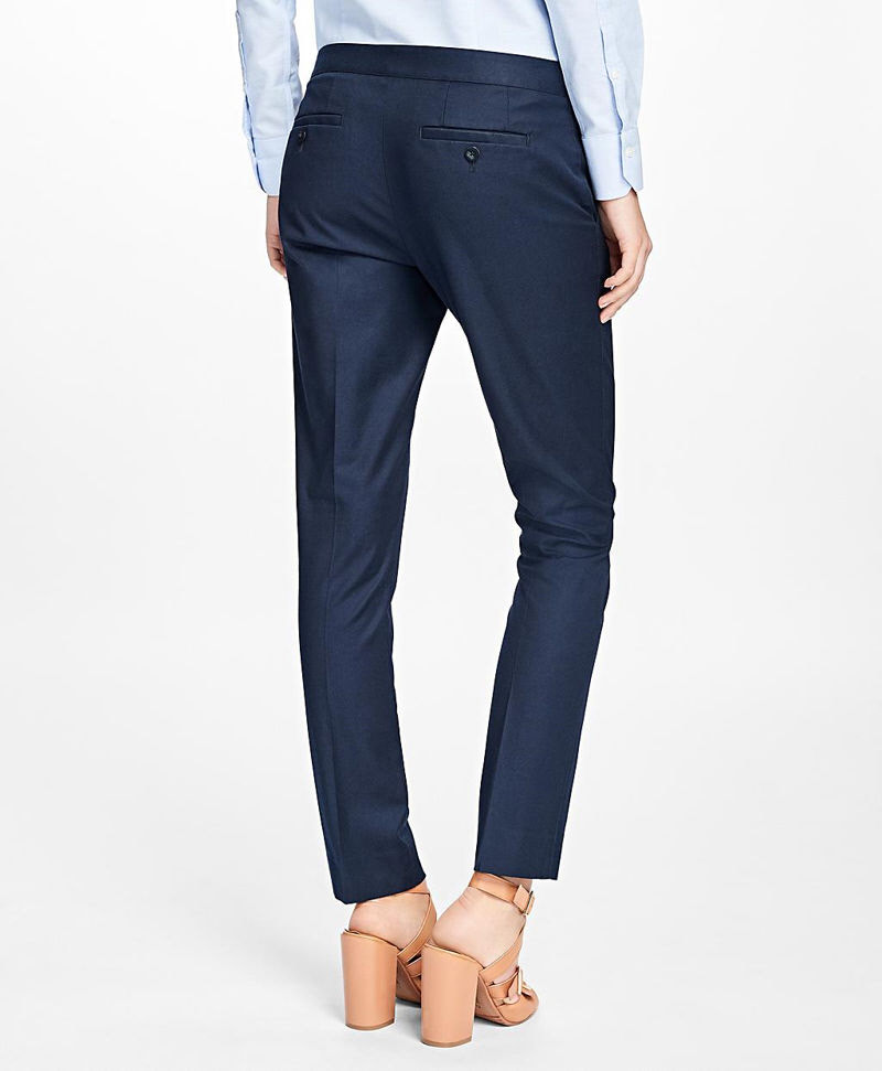 Flat-Front Stretch Advantage Chinos® 썸네일 이미지 3