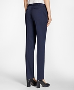 Tapered Stretch Wool Trousers 썸네일 이미지 4