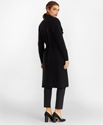 Water-Repellent Stretch Wool Twill Trench Coat 썸네일 이미지 4