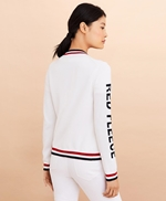 Logo-Detail Cotton Cardigan 썸네일 이미지 4