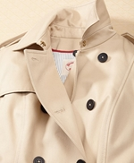 Cotton Twill Trench Coat 썸네일 이미지 4