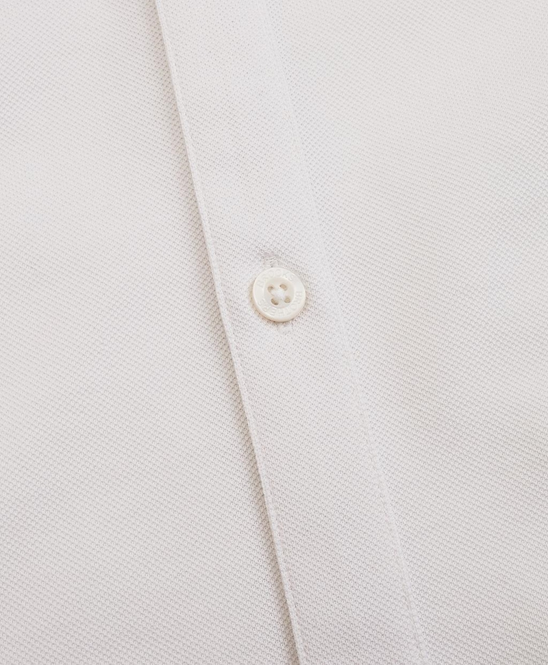 Tailored Lightweight Supima® Cotton Pique Shirt 썸네일 이미지 4