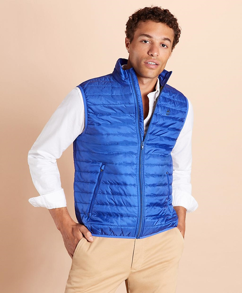 Water-Resistant Puffer Vest 썸네일 이미지 4
