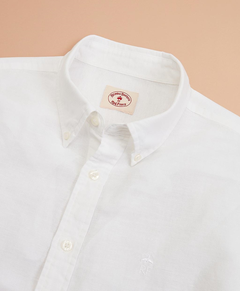 Garment-Dyed Linen-Cotton Shirt 썸네일 이미지 4