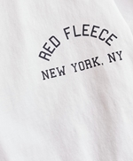 Jersey Cotton Red Fleece NY Graphic T-Shirt 썸네일 이미지 5