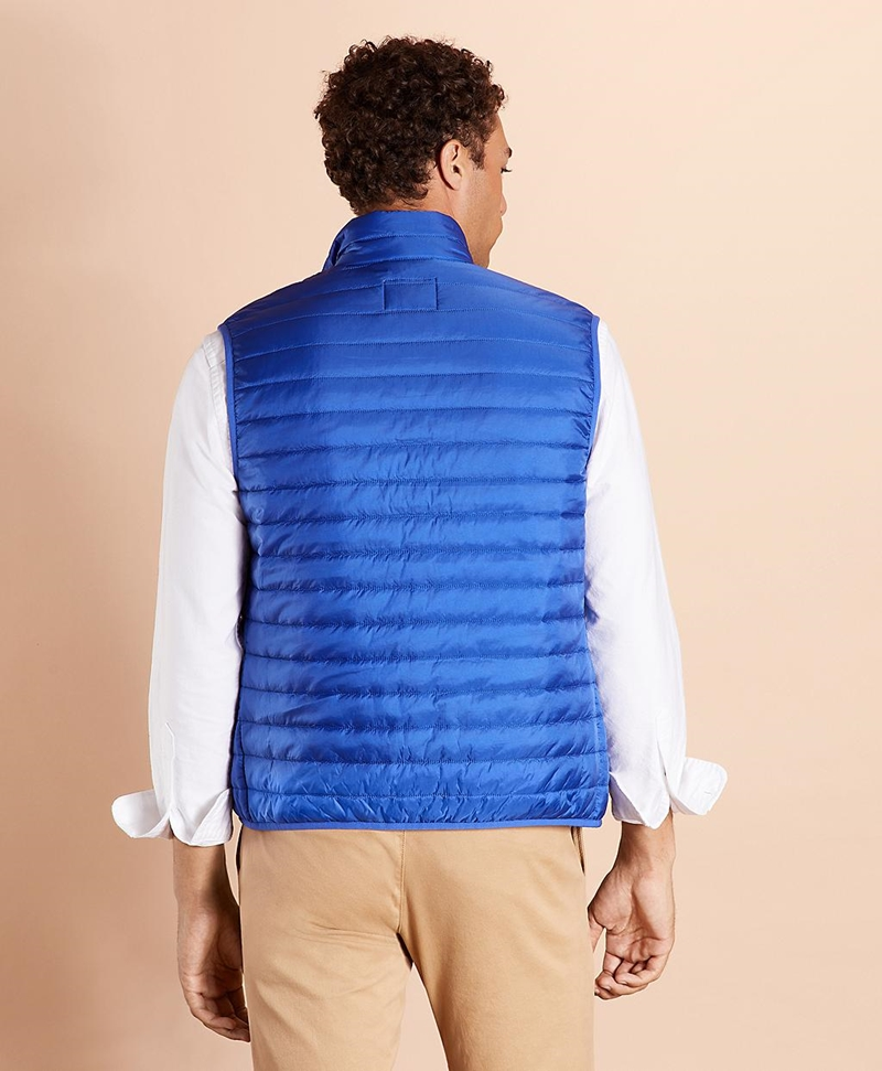 Water-Resistant Puffer Vest 썸네일 이미지 5